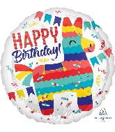 """18"""" Piñata Party Foil Balloon"""