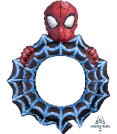 Spiderman Mylar Balloons