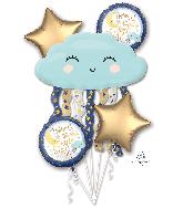 Bouquet Twinkle Little Star Foil Balloon