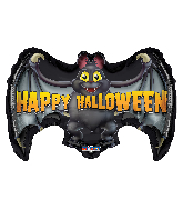"24"" Halloween Bat Foil Balloon"