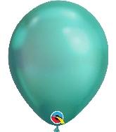 "11"" Chrome Green 25 Count Qualatex Latex Balloons"