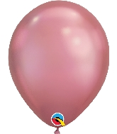 "11"" Chrome Mauve 25 Count Qualatex Latex Balloons"