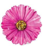 "18"" Hot Pink Rhinestone Daisy Foil Balloon"