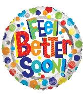 """18"""" Feel Better Soon Foil Balloon"""