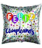 "18"" Feliz Cumple Balloon Foil Balloon"