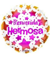"18"" Bienvenida Hermosa Foil Balloon"