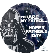 """18"""" Star Wars Happy Father's Day Foil Balloon"""