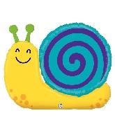 """33"""" Shape Garden Snail Foil Balloon"""