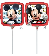 "9"" Mickey Roadster Racers Airfill Only Foil Balloon"