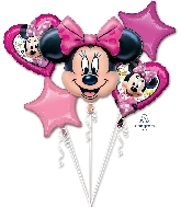 Minnie Happy Helpers Bouquet Foil Balloon