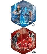 """23"""" Star Wars The Last Jedi SuperShape XL Foil Balloon"""