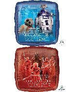 """18"""" Star Wars The Last Jedi Foil Balloon"""
