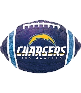 "17"" Los Angeles Chargers Junior Shape XL® Foil Balloon"