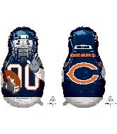 "39"" Football Player Chicago Bears Foil Balloon"