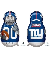 "39"" Football Player New York Giants Foil Balloon"