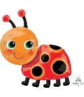 "28"" Miss Ladybug SuperShape XL Foil Balloon"