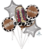 Yeehaw Bouquet Foil Balloon