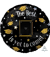 "32"" The Best is Yet to Come Personalized Foil Balloon"