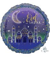 """18"""" Eid MUBARAK Foil Balloon"""