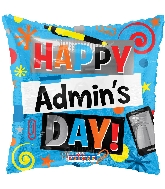 """18"""" Admin 's Day Elements Foil Balloon"""