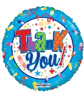 "18"" Thank You! Healthy Foil Balloon"