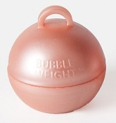 35 Gram Bubble Weights Rose Gold (10 Piece)