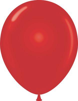 "11"" Pearl Starfire Red Tuf Tex Latex Balloons 100 Per Bag"