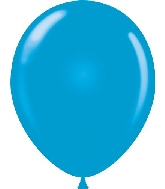 "9"" Standard Blue Tuf Tex Latex Balloons 100 per Bag"