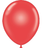 "9"" Standard Red Tuf Tex Latex Balloons 100 Per Bag"