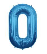 """34"""" Foil Balloon Chain Deco Link (Chain Link) - Blue"""