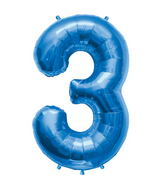 "34"" Northstar Brand Packaged Number 3 - Blue"
