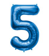 "34"" Northstar Brand Packaged Number 5 - Blue"