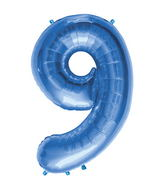 "34"" Northstar Brand Packaged Number 9 - Blue"