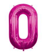 "34"" Foil Balloon Chain Deco Link (Chain Link)- Magenta"