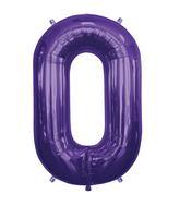 "34"" Foil Balloon Chain Deco Link (Chain Link) - Purple"