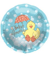 "18"" Foil Balloon Baby Shower Ducky"