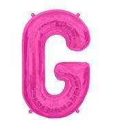 "34"" Northstar Brand Packaged Letter G - Magenta"