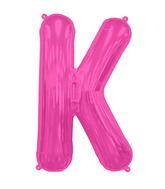 "34"" Northstar Brand Packaged Letter K - Magenta"