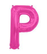 "34"" Northstar Brand Packaged Letter P - Magenta"
