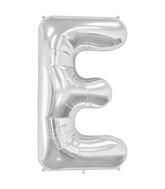 """34"""" Northstar Brand Packaged Letter E - Silver"""