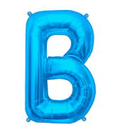 "34"" Northstar Brand Packaged Letter B - Blue"