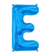 """34"""" Northstar Brand Packaged Letter E - Blue"""