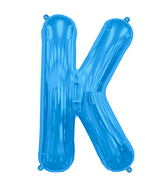 "34"" Northstar Brand Packaged Letter K - Blue"