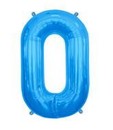 "34"" Northstar Brand Packaged Letter O - Blue"