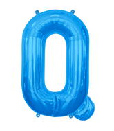 "34"" Northstar Brand Packaged Letter Q - Blue"