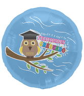 "18"" Foil Balloon Spanish Grad Owl"