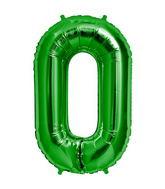 "34"" Foil Balloon Chain Deco Link (Chain Link) - Green"