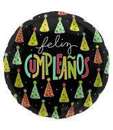 "18"" Foil Balloon Feliz Cumpleanos Hats"