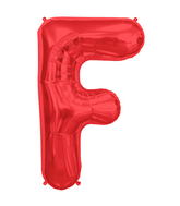 """34"""" Northstar Brand Packaged Letter F - Red"""