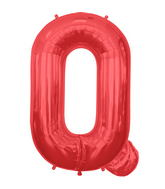 """34"""" Northstar Brand Packaged Letter Q - Red"""